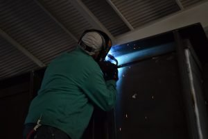 erection welding